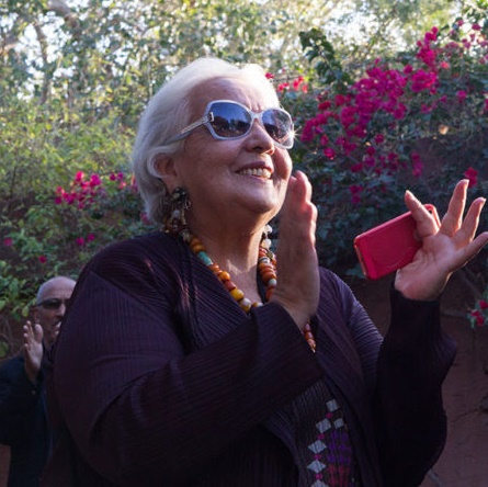 Les passionnés du 7ème art à la découverte d'une rétrospective de documentaires d'Izza Genini sur le Maroc