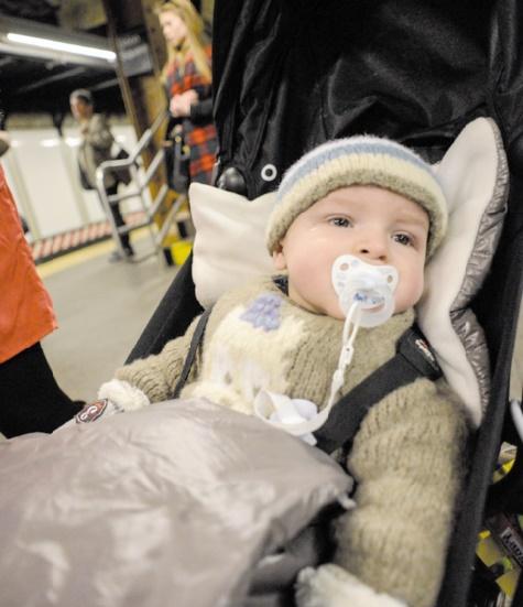 Insolite : Un nourrisson dans le métro new-yorkais