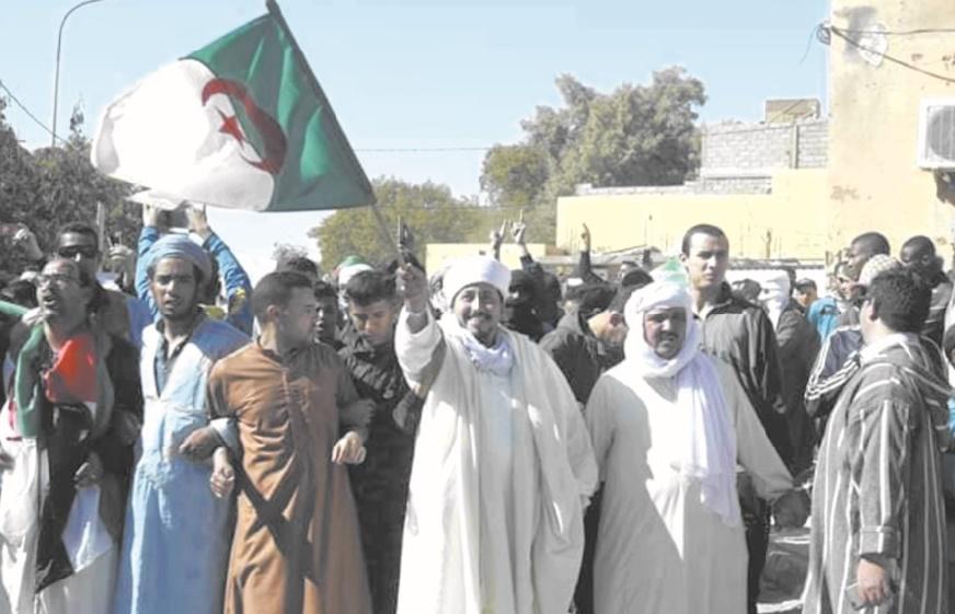 Les manifestations contre Bouteflika mettent à mal le Polisario