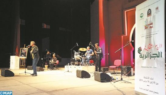 Un spectacle musical haut en couleur à l'ouverture des Journées culturelles algériennes à Oujda