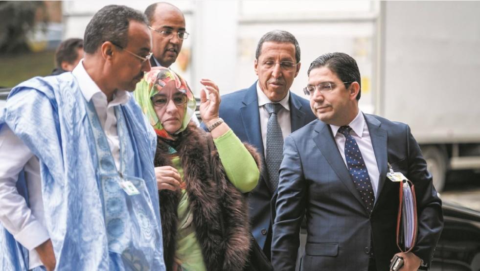 La délégation marocaine aux pourparlers de Genève 1.