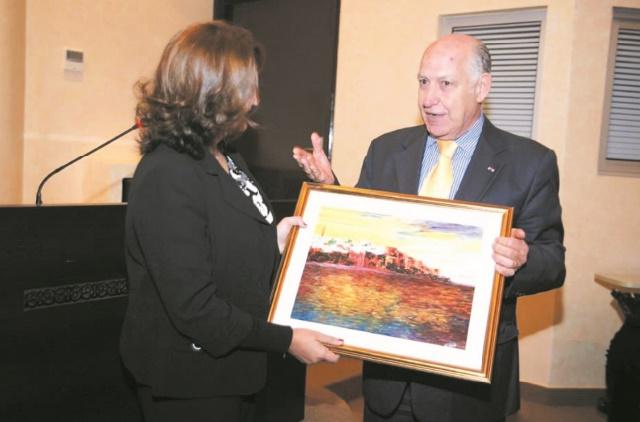 L'artiste peintre Afif Bennani expose ses oeuvres à Montréal