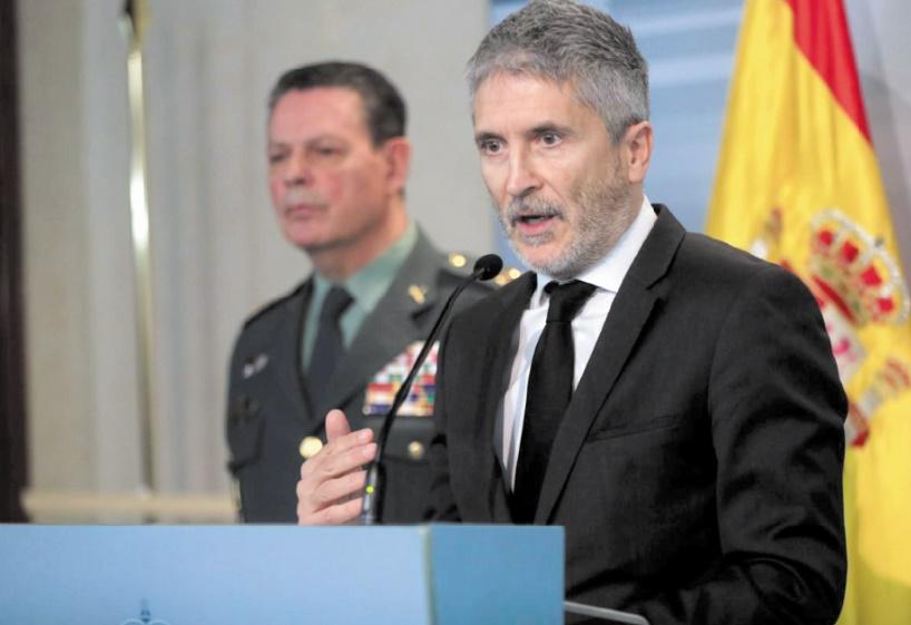 La lutte menée par le Maroc contre le trafic de migrants louée par le ministre espagnol de l'Intérieur