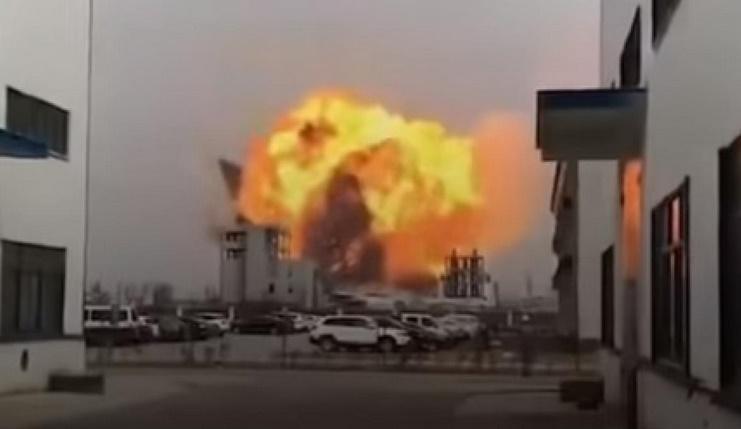 La Chine à nouveau frappée par une explosion chimique