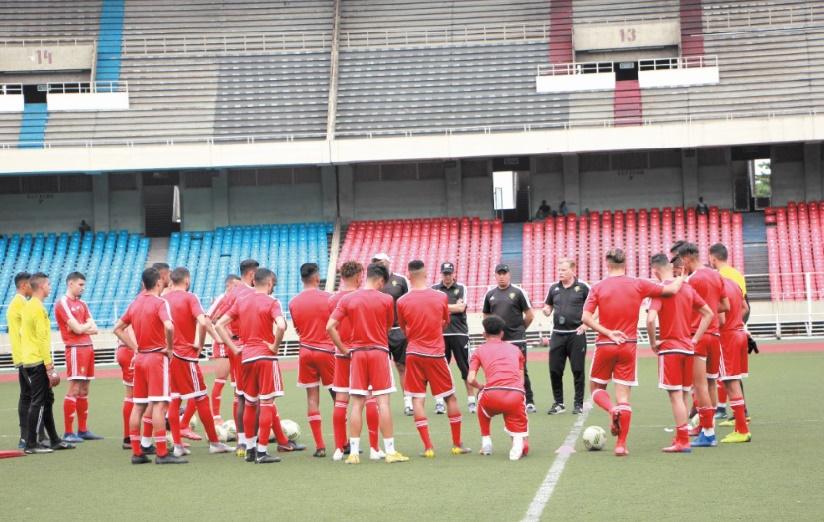 En attendant le verdict de la CAF, les U23 jouent leur va-tout devant la RDC