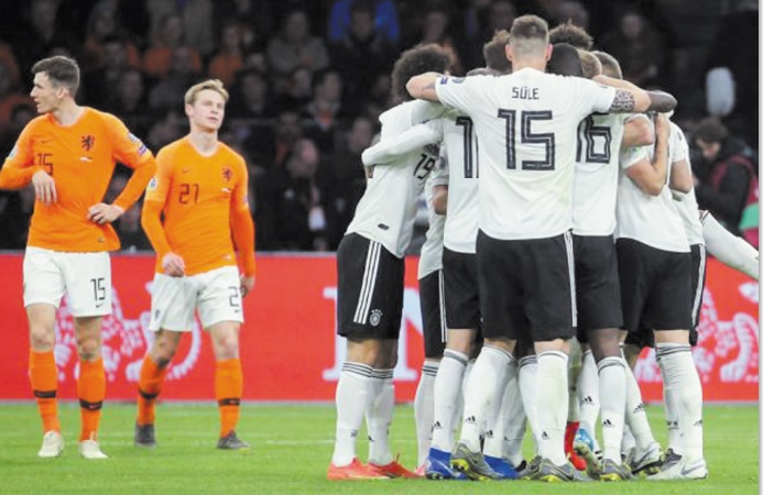 Qualifs Euro-2020 Fortunes diverses pour l'Allemagne et la Croatie