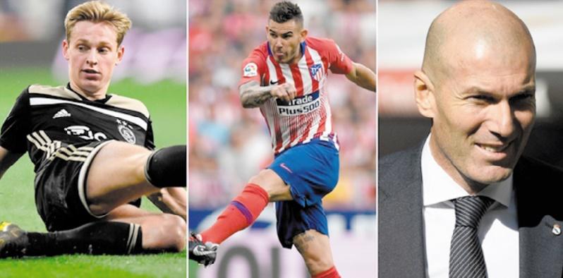 De Jong, Hernandez, Zidane...