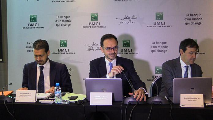 Faible croissance du résultat net bancaire consolidé de la BMCI