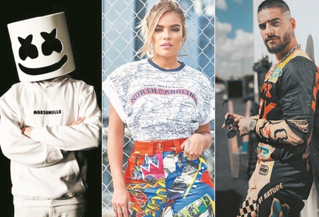 Marshmello, Karol G et Maluma annoncés à Mawazine