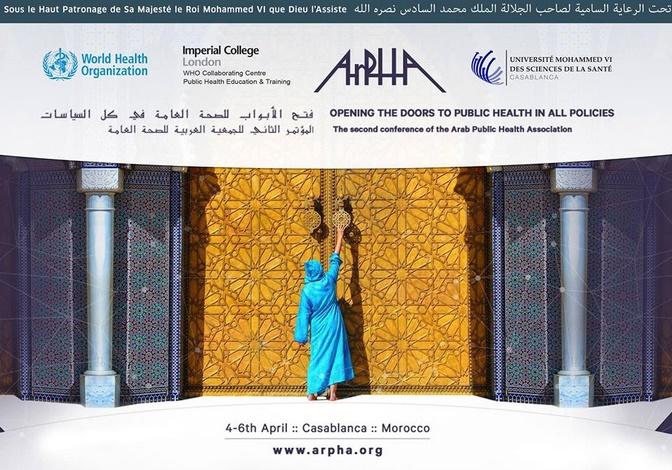 Démarrage du 2ème Congrès arabe de la santé publique