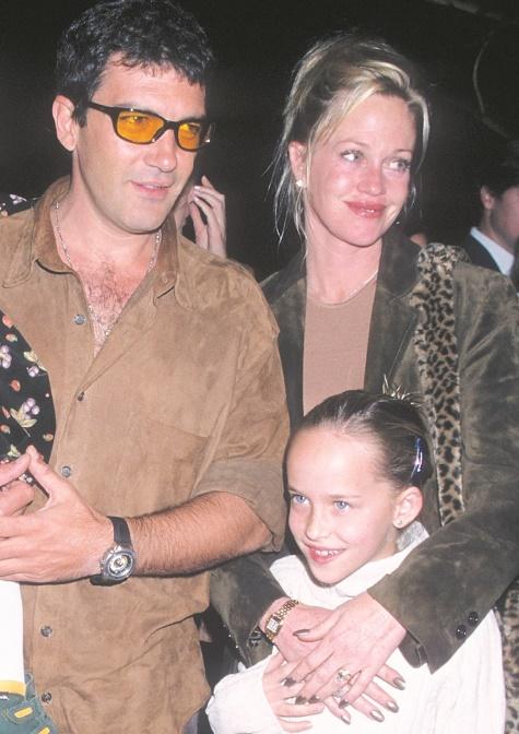 Stars de la même famille : Antonio Banderas et Dakota Johnson