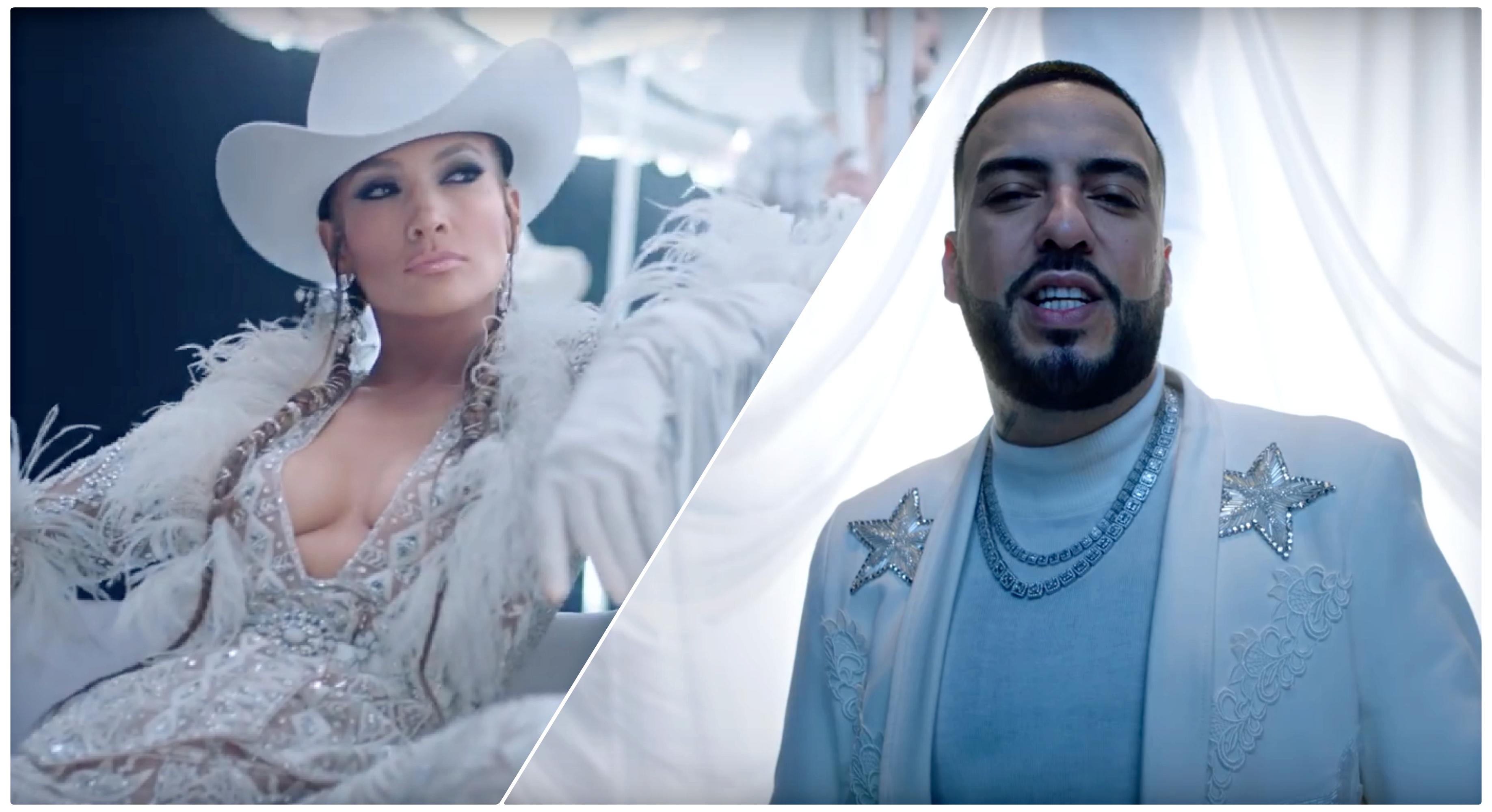 """JLo dévoile  """"Medicine"""" en featuring avec  le Marocain French  Montana"""