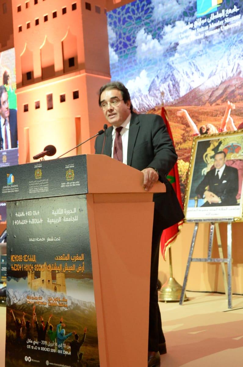 Abdelkrim Benatiq :Vous êtes un capital essentiel, nécessaire voire crucial capable de proposer un certain nombre de réponses à plusieurs défis à venir