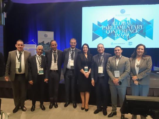Des parlementaires marocains  à la Banque mondiale et au FMI