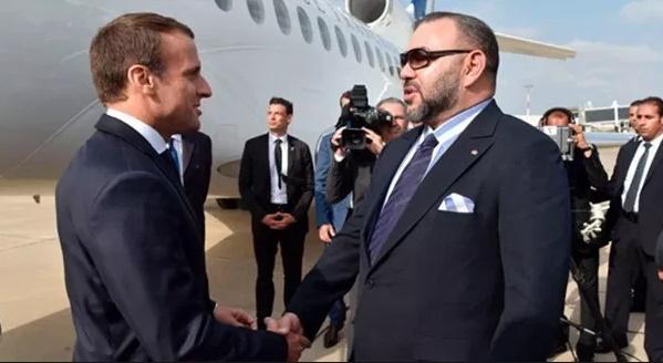 Message de soutien et de solidarité de S.M le Roi au Président français