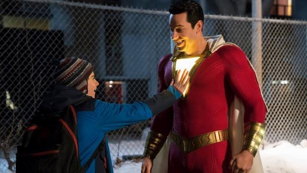 """""""Shazam!"""" toujours premier au box-office"""