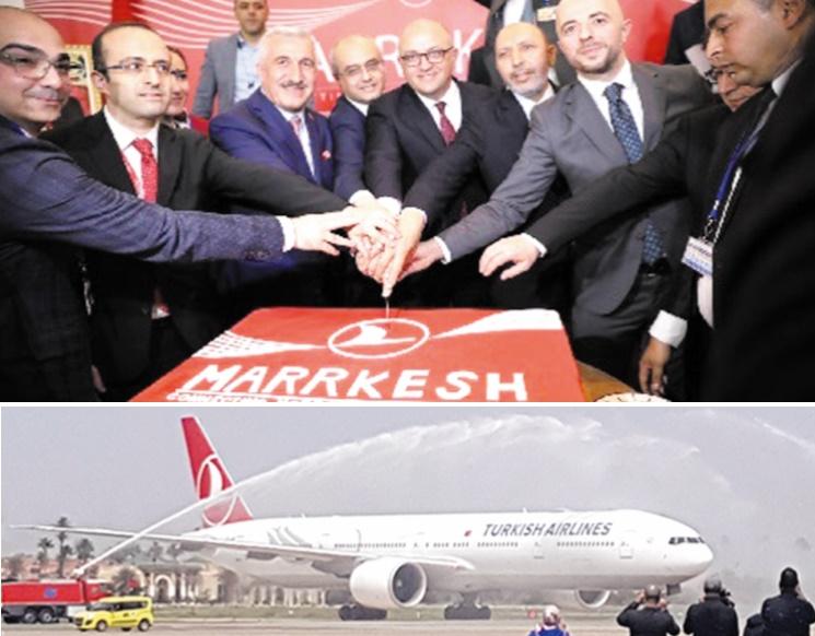 Turkish Airlines lance une nouvelle ligne directe reliant Marrakech à Istanbul