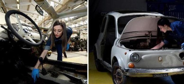 Insolite : Fiat 500