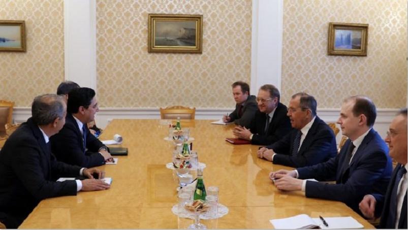 Nasser Bourita s'entretient à Moscou avec Serguei Lavrov