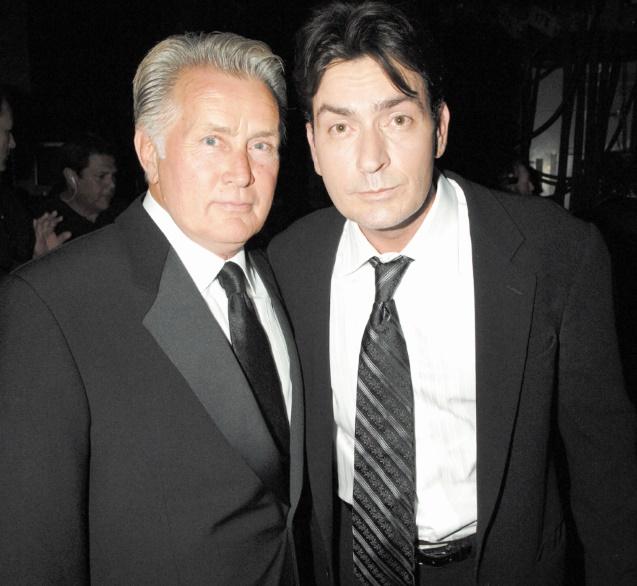 Stars de la même famille  : Martin Sheen et Charlie Sheen