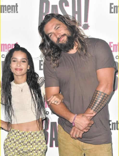 Stars de la même famille : Jason Momoa et Zoë Kravitz