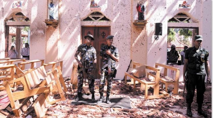 290 morts dans les attentats de Pâques au Sri Lanka