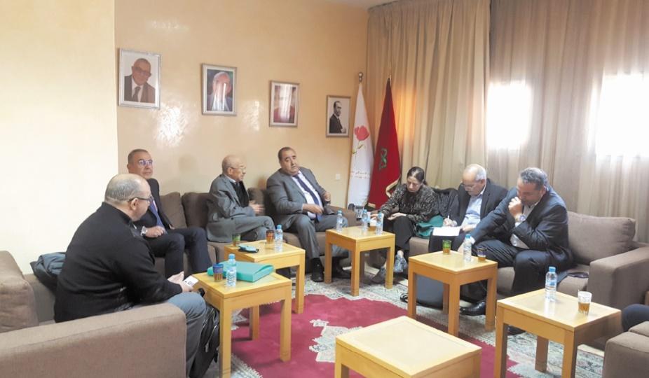Détenus d'Al Hoceima : Driss Lachguar reçoit une délégation d'ONG des droits de l'Homme