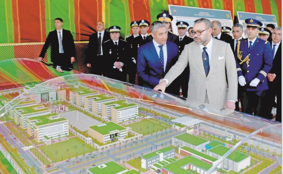 S.M le Roi lance les travaux de construction du nouveau siège de la DGSN
