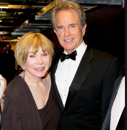 Stars de la même famille : Shirley MacLaine et Warren Beatty