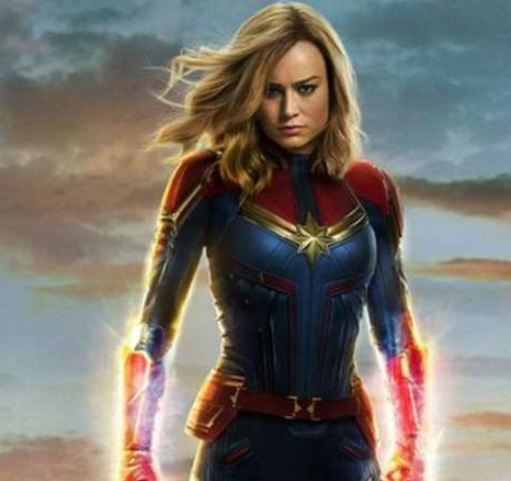 Insolite : Captain Marvel
