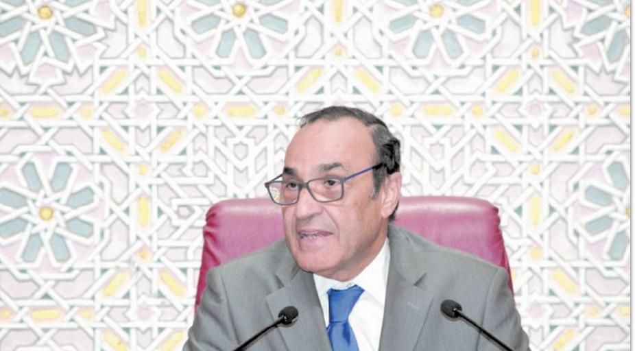 Habib El Malki se réunit avec les présidents des commissions permanentes
