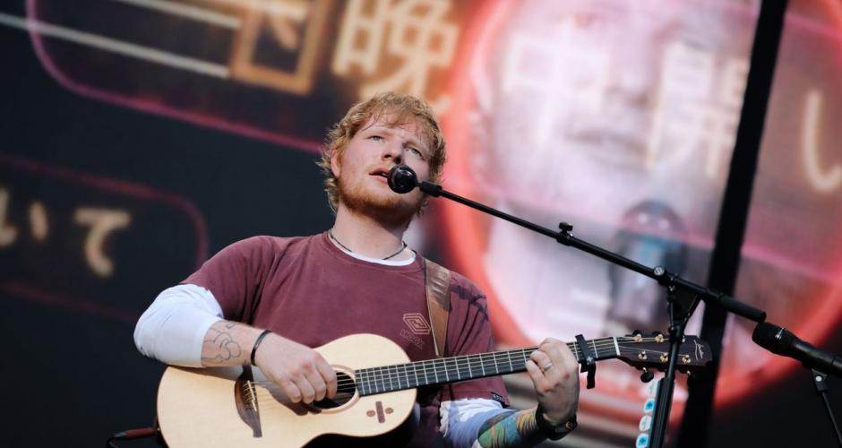 Ed Sheeran double sa fortune et devance la chanteuse Adele