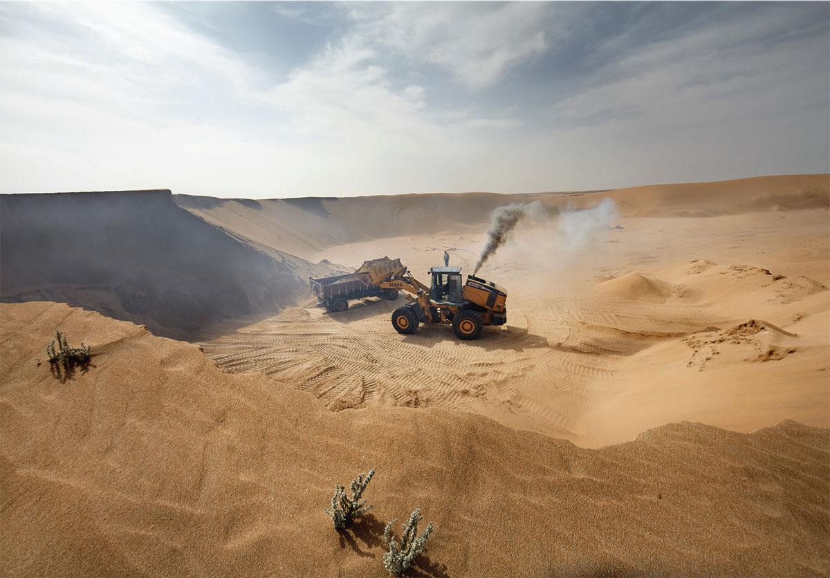 Le pillage du sable au Maroc constitue un véritable danger