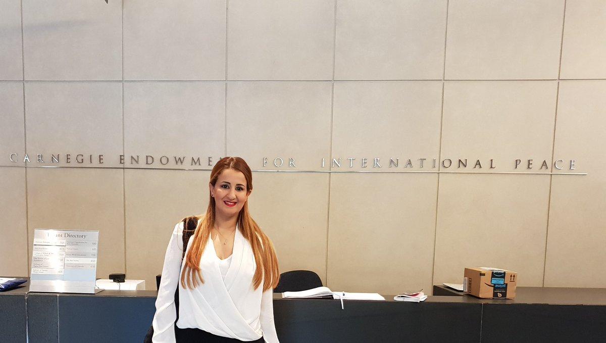 Yasmine Hasnaoui : Une militante  engagée des deux côtés de l'Atlantique