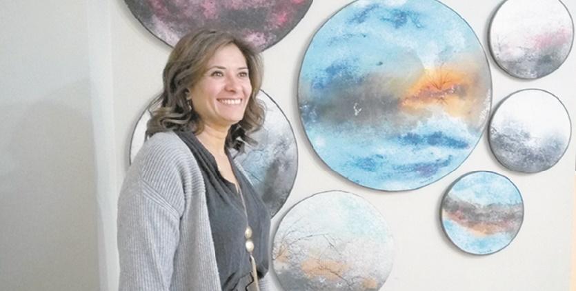 Mounia Boutaleb : Je suis loin d'être une peintre réaliste