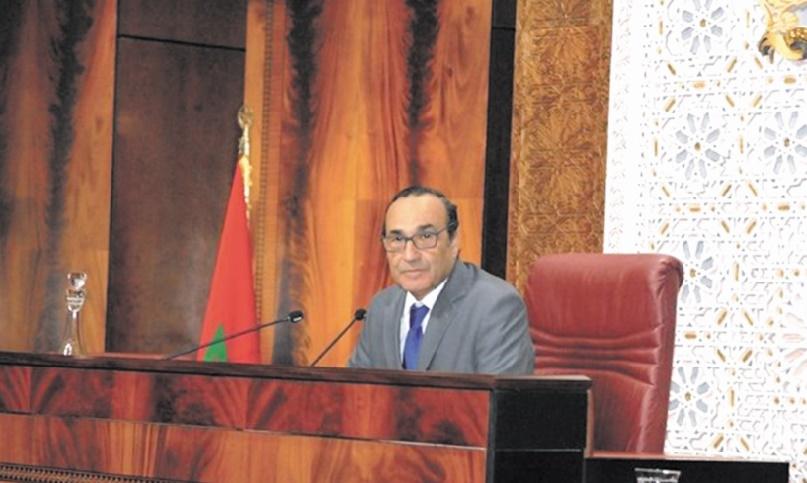 Habib El Malki se réunit avec les présidents des groupes parlementaires