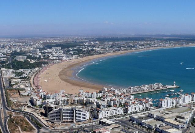 Hausse des nuitées touristiques à Agadir et Essaouira