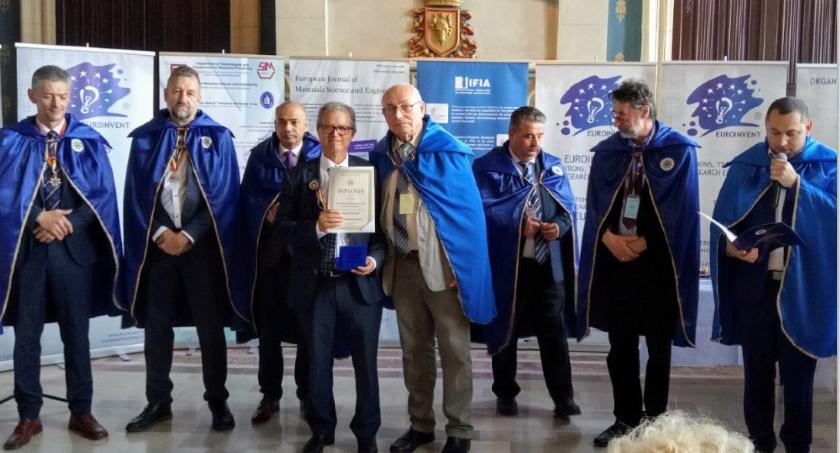 Kamal Daissaoui fait chevalier de l'ordre pour le progrès des sciences et de l'invention
