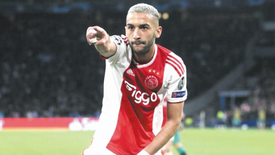 Arsenal a une longueur d'avance dans le dossier Ziyech