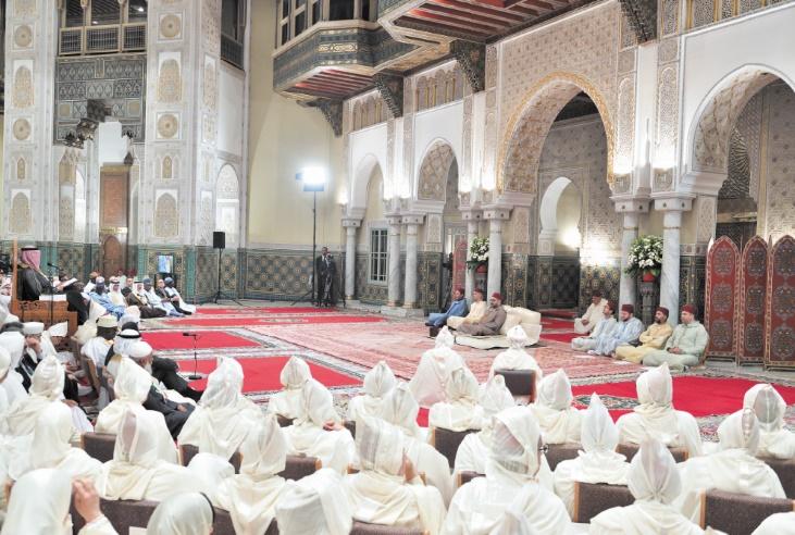 Amir Al Mouminine préside la quatrième causerie religieuse du Ramadan
