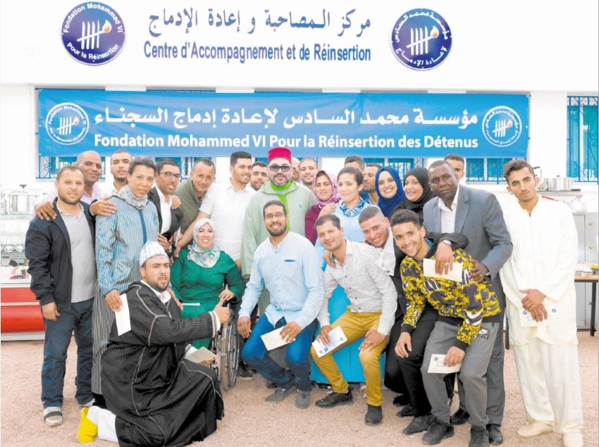 S.M le Roi lance le Programme national d'appui aux micro-projets et à l'auto-emploi des ex-détenus