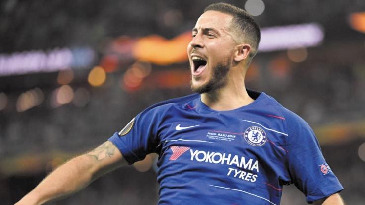 Ligue Europa Hazard, un doublé et un titre pour partir