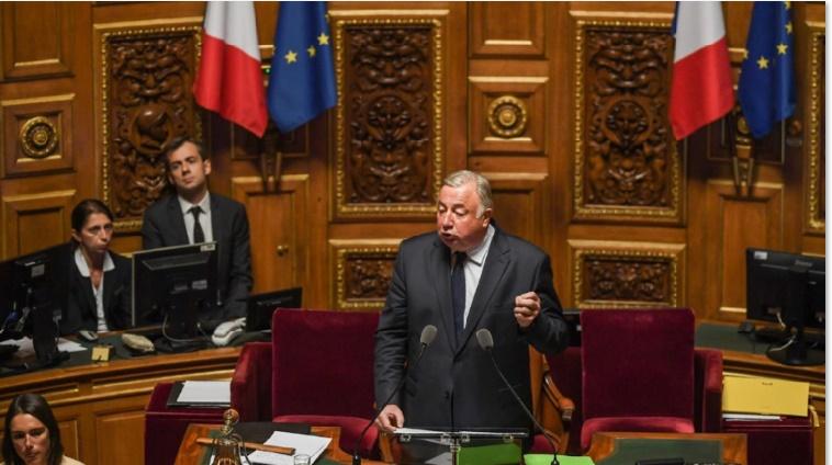 Le président du sénat français, Gérard Larcher.