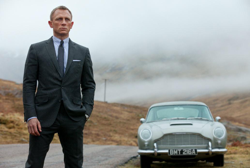 Daniel Craig blessé sur le tournage du nouveau James Bond