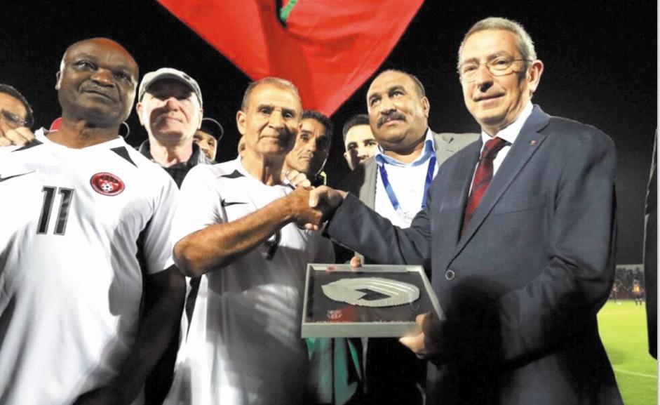 Le légendaire Ahmed Faras fêté par des stars marocaines et catalanes.
