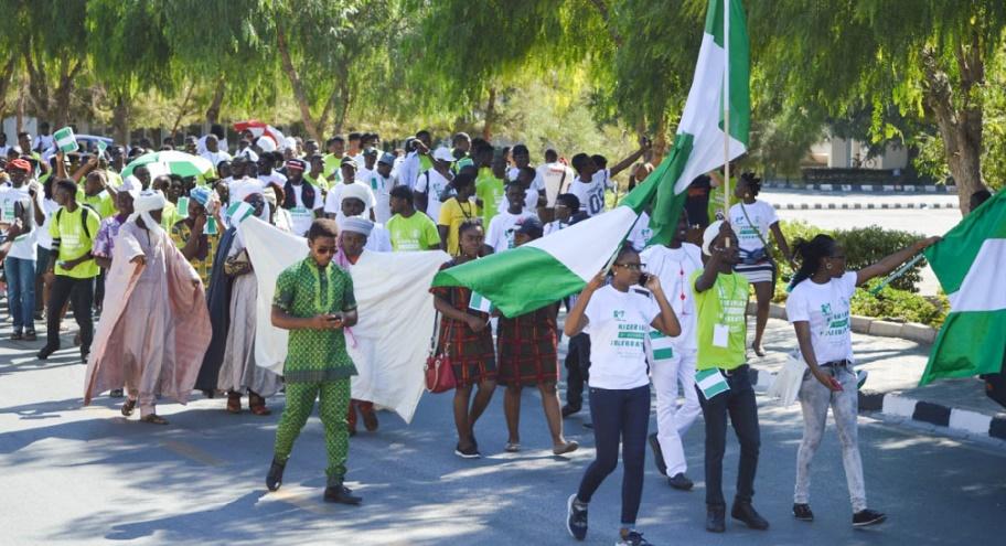 """S.M le Roi représenté à la commémoration de la """"Journée de la démocratie"""" / Habib El Malki au Nigeria"""