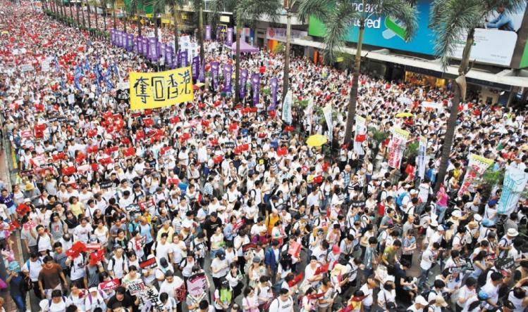Au-delà des manifestations, un combat pour sauver l'âme de Hong Kong