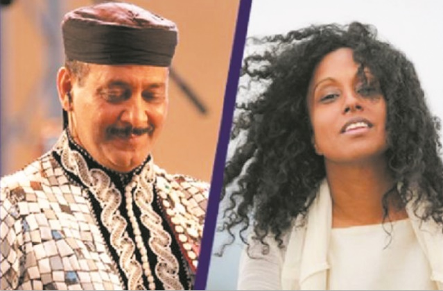 Maâlem El Kasri et Susheela Raman en concert à Essaouira