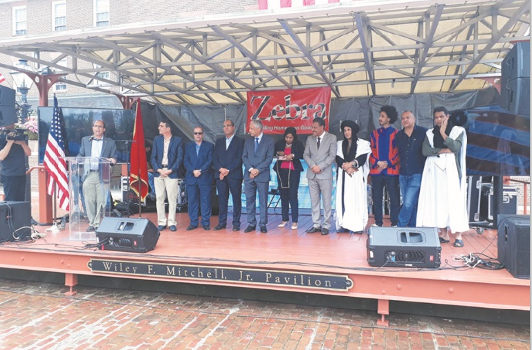 """Zagora à l'honneur du """"Moroccan day"""" aux Etats-Unis"""