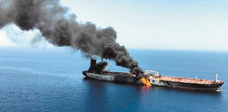 Attaques contre deux pétroliers en mer d'Oman